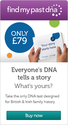 Findmypast DNA promotion
